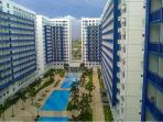 Sea Residences Condo fully furnished w/ balcony