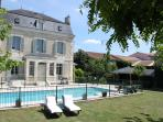 Luxury Dordogne Village Home + Pool. Walk to shops