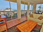 Stunning 2/1 Ocean view and River-view Unit!