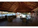 Luxury Home - Huge 20 by 20 foot Tiki Hut - Custom Heated Pool on Wide Intracoastal