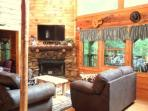 CABIN FOR FAMILY OR GROUP GETAWAY . SLEEPS 10