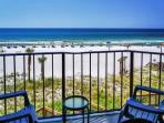 3RD FLOOR! BEACHFRONT FOR 4! GREAT VIEWS! PERFECT FOR SNOWBIRDS! 10% OFF!
