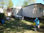 Mobile home for 6/8 people, 4 * campsite
