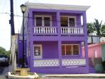 The Purple House in Vieques, PR