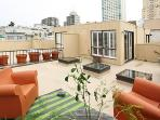 Three-Level Furnished 2BR/2BA with Roof Deck
