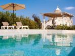 Countryside trullo with pool
