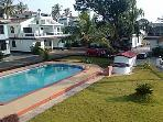 Spacious self-catering 2 bedroom villa in Arpora.