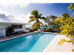 Heron Hill :  Beachfront Villa with swimming pool