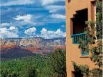 Stunning views of the Red Rocks at Sedona Summit