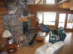Glacier Chalet - Custom Log Home on the River