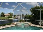 Marco Getaway - 3 BR waterfront home w/dock & pool