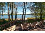 Beautiful Pocono Lakefront Home with Private Beach