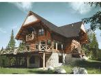 Luxurious 5br Log Home At Côté Nord Tremblant