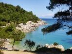 Comfy 2 bedroom apartment 2' from sea Mali Lošinj