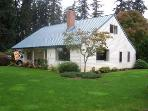 4 bd farmhouse resting in 40 acres of hazelnuts