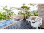 Patong Sea view 4 bedroom pool villa