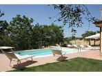 Private villa with pool at 15 km from the sea