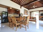 Quiet and Peaceful 3 bedroom Villa with Garden and Pool and close to the Beach.