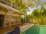 X-Mas Special - Wooden Villa with Pool near Beach