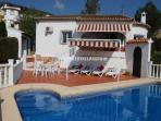 VILLA CELESTE Sleeps 2 to 4 - (Villa Celeste)