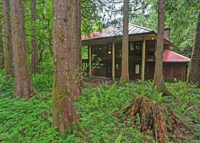 Huckleberry Wilderness Lodge - Riverfront, Hot Tub - Image 1 - Mount Hood - rentals