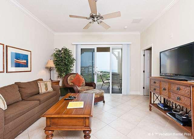 "Vacation condo living is absolutely the best! - 343 Cinnamon Beach Family Resorts, 50"" HDTV, 2 pools, Wifi, FL - Palm Coast - rentals"