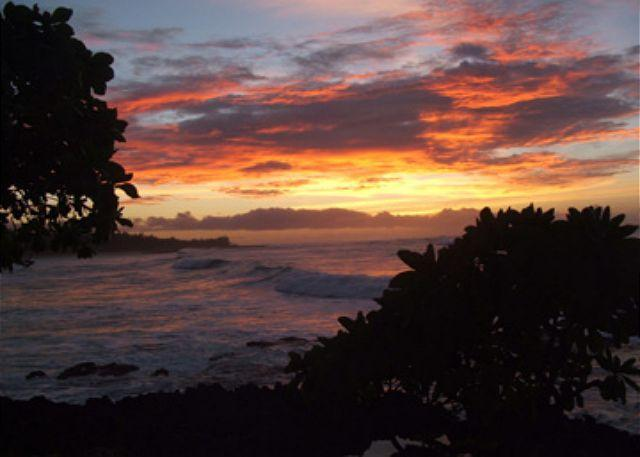 Sonnenuntergang am Turtle Bay