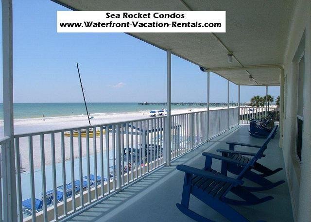 Sea Rocket 17 - Second floor efficiency condo in Gulf Front building! - Image 1 - North Redington Beach - rentals
