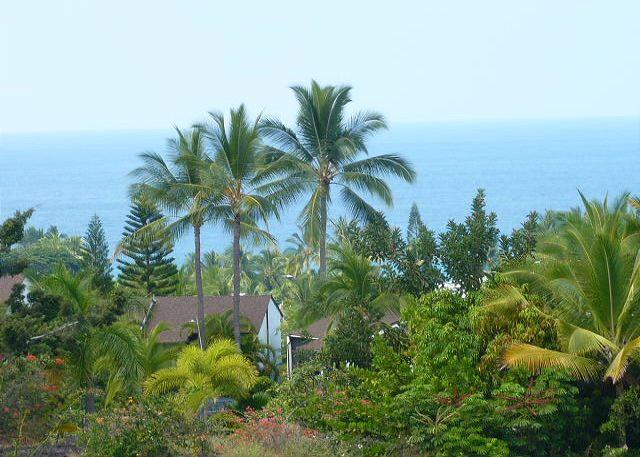 Ocean view from the lanai. - #CCV 241 - Country Club Villas #241 - Kailua-Kona - rentals