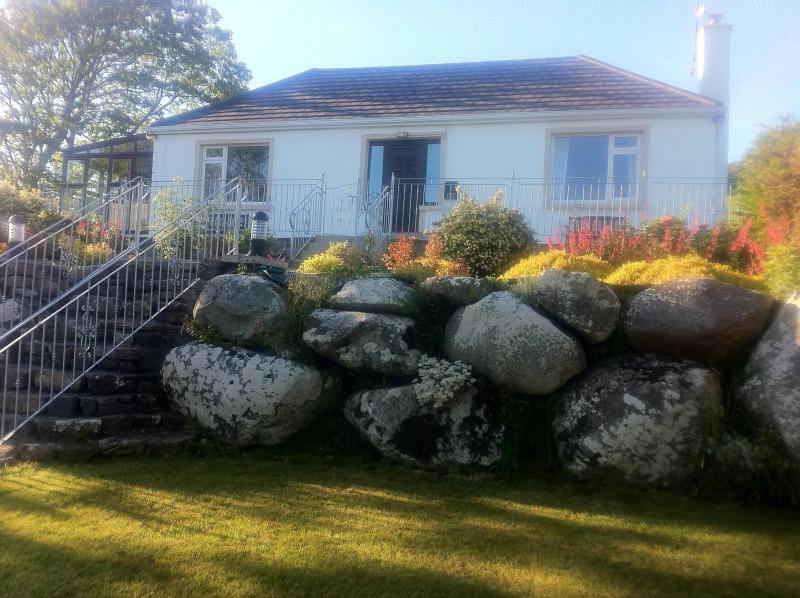 Carrowhollly Cottage in the evening sun - Carrowholly Cottage  Westport  Co Mayo Ireland - Westport - rentals