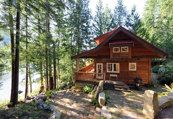 The Cabin at Moon Dance - The Cabin at Moon Dance -Waterfront Private Luxury - Pender Harbour - rentals