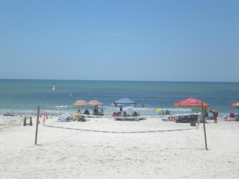Our Beach with volleyball - Beach Dreams - Beach Cottage 2103 - Indian Shores - rentals