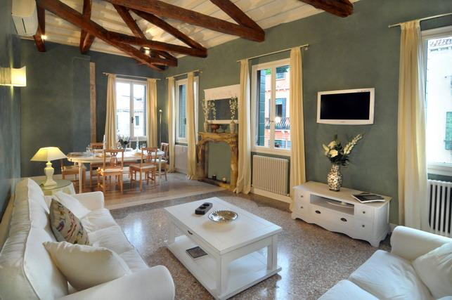 The living and dining area - Ca' Dell'Artista - Venice - rentals
