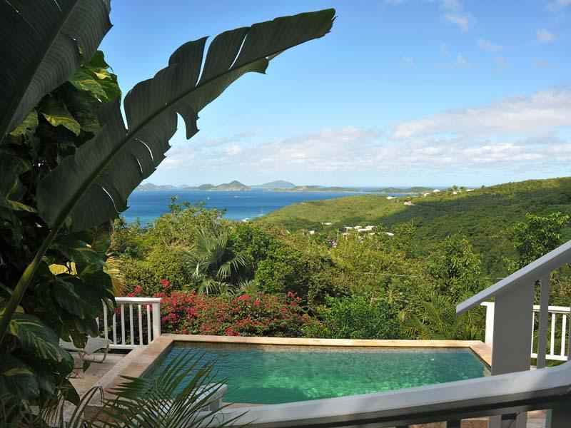 Perelandra is the perfect place to spend your vacation in paradise. - St. John Villa Private Pool Spectacular Views 2BR - Cruz Bay - rentals