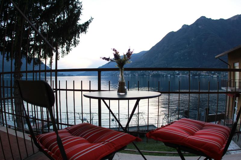 Gorgeous Private Balcony Views at the Lake Como Beach Resort Villas