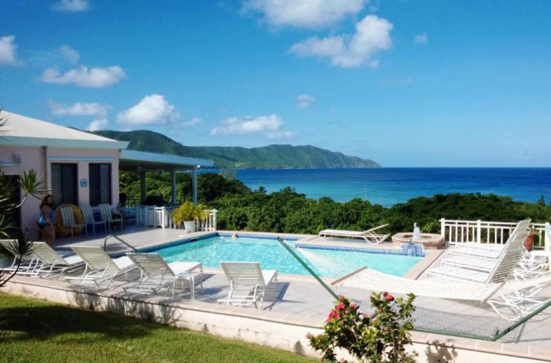 Villa Dawn, St. Croix, USVI View of Cane Bay - Villa Dawn most popular on St. Croix for 15 years! - Cane Bay - rentals