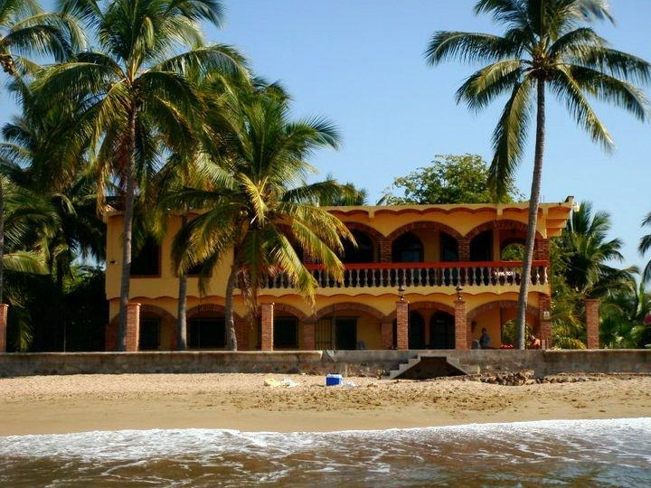 Casa Fortuna from the surf