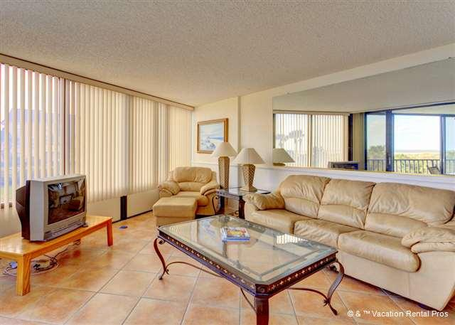 Enjoy the views from our spacious living room!