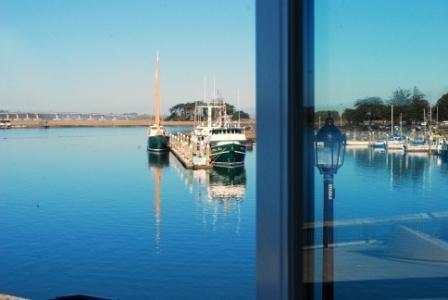 Waterfront view from every window