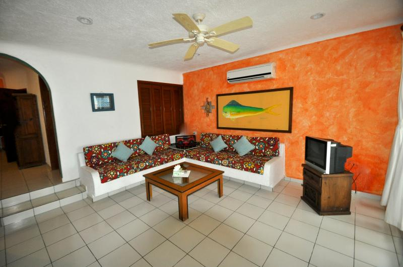 Living Room of the 3 Bedroom condo