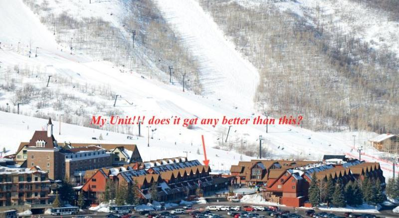 My Unit! It doesn't get any better than this! steps to the park city ski runs