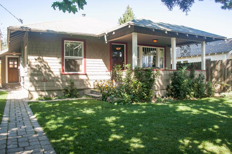 Charming 1920's bungalow with a huge front porch, great for that hot drink in the morning