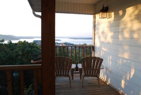 Stunning view of Table Rock Lake from the upper deck!