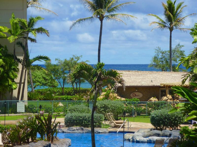Ocean & Pool View from F204 - Luxury Ocean/Pool View- Special  7/ 6-10, 8/7-11 - Kapaa - rentals