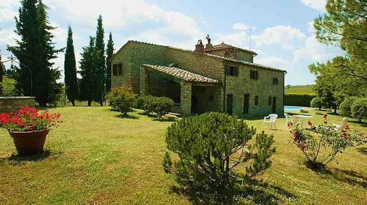 Cottage placed in the heart of Chianti Classico triangle: Castellina-Radda-Gaiole in Chianti