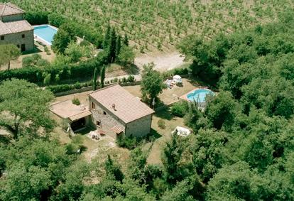 Tuscany countryhouse with private pool and garden in the Chianti hills.