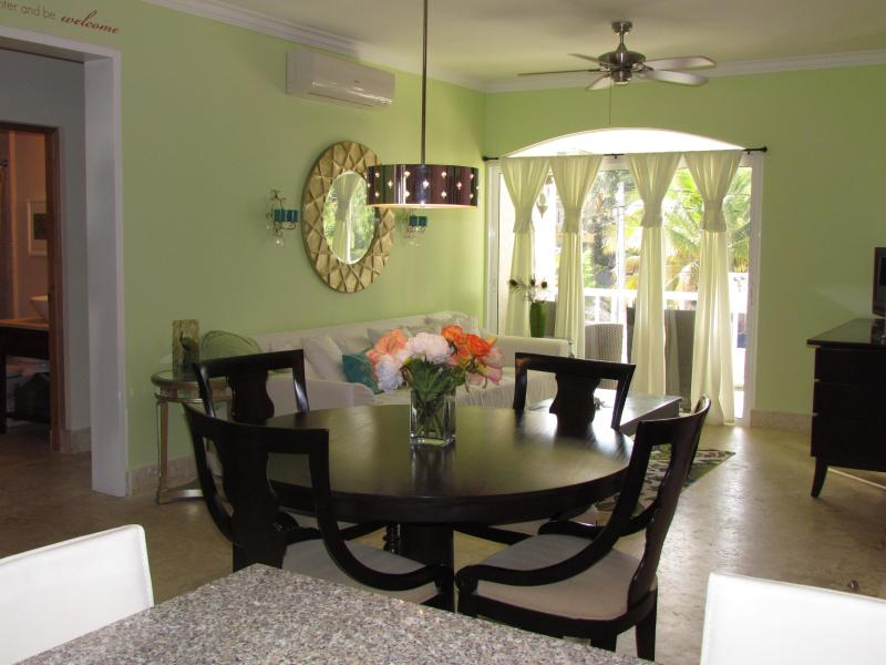 Beautiful two bedroom 2/bath condo at the beach - Image 1 - Punta Cana - rentals