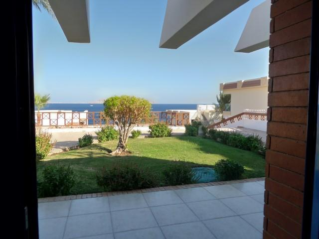 View from the lounge - Sea Front Chalet  inside 5 Stars Hotel - Sharm El Sheikh - rentals