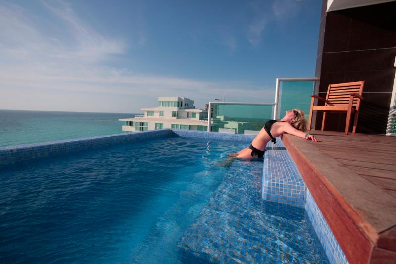 The Heated Private Infinity Pool