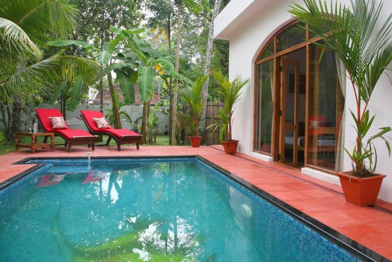 Orchid Cottage Pool - Beach Villas and Cottages, Marari Beach, Kerala - Alappuzha - rentals